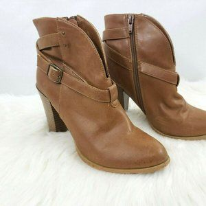 Gomax Womens Prima Donna Booties Size 7.5